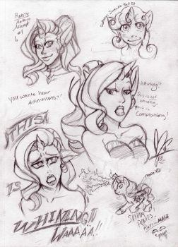 Rarity page-- THIIIIIS IS WHINING by LadyFitz