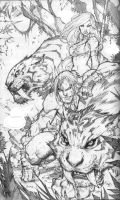 kazar splash pencils by mad by TonyKordos