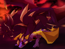 Bow to the king by illegal-spyro-fan