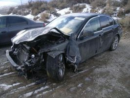 Left to Die after a Head on Collision by AdarkerNEMISIS