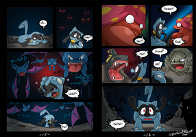 Riolu is Born - Page 15-16 by TamarinFrog