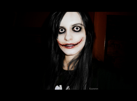 Jeff the killer cosplay by Kazuren