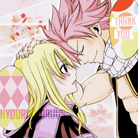 Natsu and Lucy by hyourinmaruus