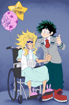 BNHA: Happy Birthday, All Might! by BechnoKid