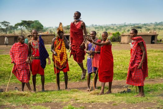 Maasai Warriors by JustinBowen
