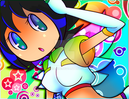Song-Angel Rainbow-Suit by Kamira-Exe