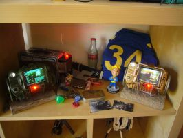 my little Fallout shrine by Corroder666