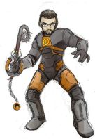 Heartblade Gordon Freeman by jameson9101322
