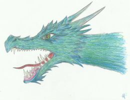 Blue Dragon by Arpiniko