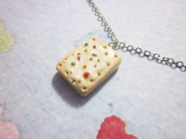 Poptart Necklace by Cryssy-miu