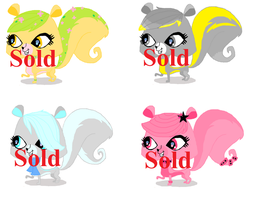 LPS Skunk adopts- Closed by FiretailCat
