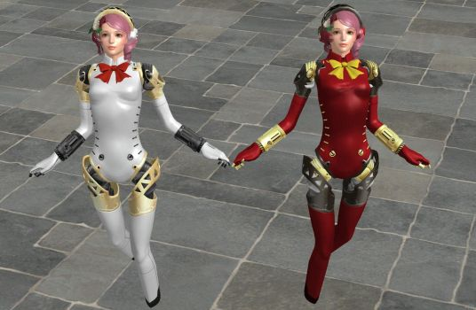 'TES4: Oblivion' P3 Aigis Armor XPS ONLY!!! by lezisell