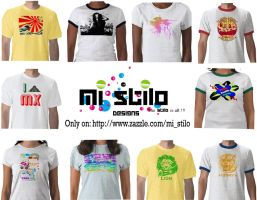 T Shirts: Mi Stilo by Vilchis