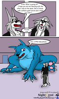 The Big Bad Wolfaroo 4 by NightCrestComics