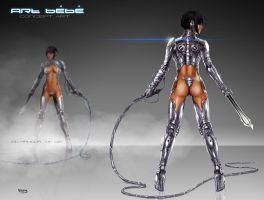 Art Bebe_Bio Armor MK002_BACK by tariq12