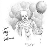 Pennywise by silentsketcher