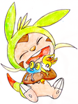 Chespin by IAmFluffyTheCat
