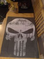 Home made Punisher Poster by StaticRed