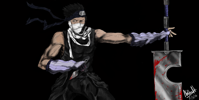 Zabuza Momochi (THE DEMON OF THE HIDDEN MIST) by N3thruH