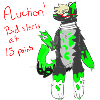 Toxic Boy AUCTION CLOSED by trashbutt