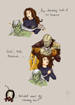 Lovely Kain`s hair by Vivern-of-Nosgoth