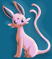 espeon by Miss-Mccookies