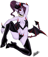 gaia devil by AYANAMAY