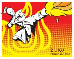Pop art series: Zuko by ekormekolindo