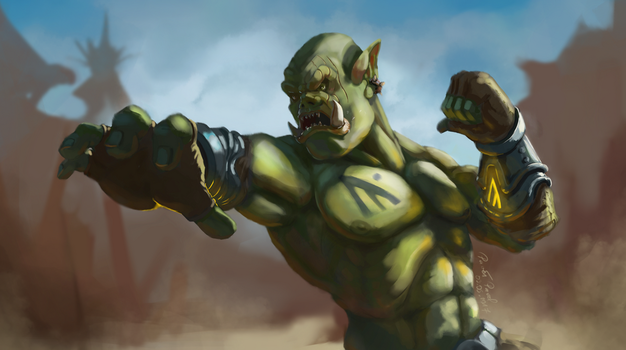 Orc Puncher by Slauer