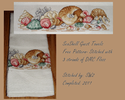 Seashell Guest Towels by ShadowWingLG