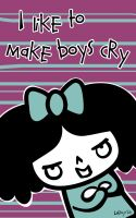 I like to make boys cry by Latefah
