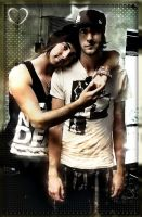 Alex and Jack of All Time Low by MusicFantic