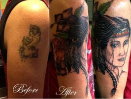 cover up native american design by Shadow3217