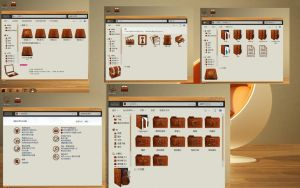 wooden iconpack for x64 by zzjshen