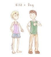 FMA - Young Riza and Roy by rockinrobin