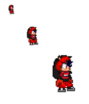 Midnight the goon sprite by nitrothehedgehog20