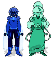 sapphire adopts (1/2 OPEN) (revamped) by Veggeh
