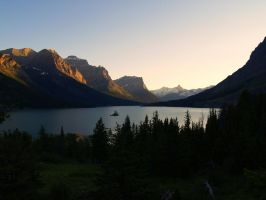 Saint Mary Lake by MartinGollery