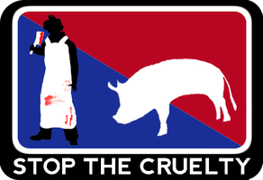 Stop the cruelty by rosmarinkraut