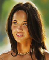 A Foxy Lady -Megan Fox- by MarkAndrewNeilson
