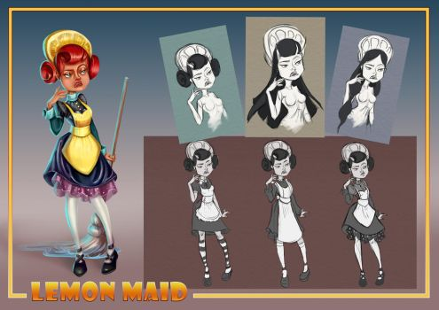 The Lemon Maid by RosieVangelova