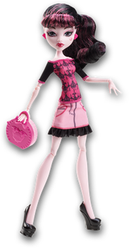 Monster High Doll Clipart: Scaris Draculaura by MHProGal