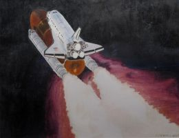 Space Shuttle by r0ketman