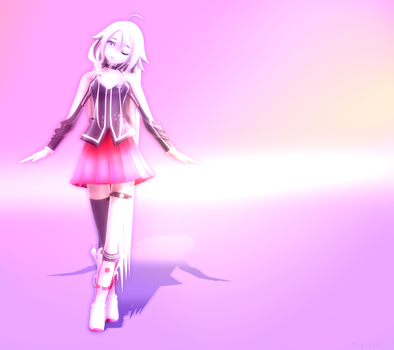 MMD Picture - IA by MayuKeks