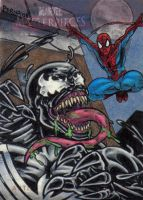 MM2 Venom Spidey Artist Proof by tonyperna