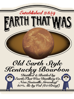 Earth That Was bourbon label by emptysamurai