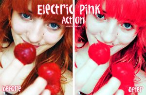 Electric Pink Action by iwantdomination