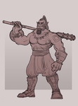 orc monk by Celopius