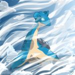 Sheer Cold: Lapras by kG333