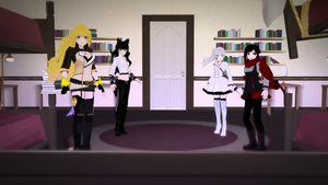 Team RWBY's New Outfits by Dustiniz117